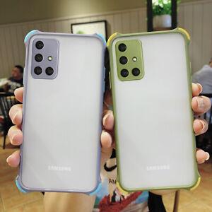 For Samsung Galaxy A52 A72 A32 S21 S20FE A21S Hybrid Armor Hard Phone Case Cover