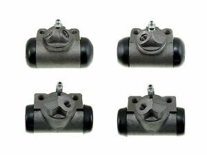 4 Brake Wheel Cylinders 1959-1964 Pontiac Bonneville Catalina 59 60 61 62 63 64
