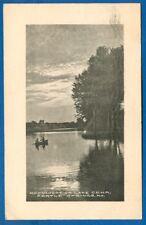 Moonlight On Lake Cena, Pertle Springs, Missouri, 1912
