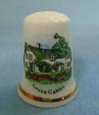 Vintage Birchcroft Home of Anne of Green Gables Fine Bone China Sewing Thimble