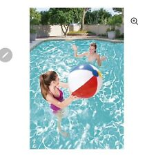 PLAY DAY BEACH BALL Ages 2+ Inflated Size 13in Diameter NEW