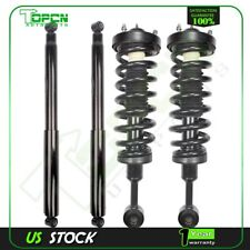 Full Set Front Quick Strut Coil Spring and Rear Shocks For 04-08 Ford F-150 4WD