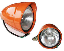 PAIR OF LIGHTS FRONT LEFT RIGHT ORANGE TRACTOR FIAT GOLD VALUE 5118924 5118925