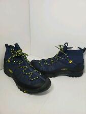 New Men's Keen 1021177 Footwear Axis EVO Mid Knit Sneaker Dress Blue Boot US 12