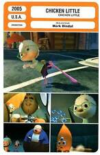 FICHE CINEMA : CHICKEN LITTLE - Animation 2005