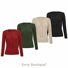 Lace V Neck Party Tops & Shirts for Women