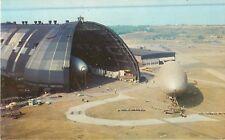 c1960s Goodyear Air Dock, Blimps - Akron, Ohio Postcard