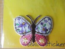 """Bügelbild - """"Schmetterling""""  - 4 cm, Aufnäher, Applikation, Aufbügler,"""
