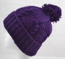 100 % WOOL NEPAL WINTER SKI HAT HANDMADE WOOLLEN BEANIE FAIR TRADE