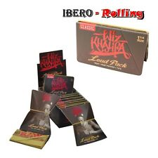Papel natural RAW + TIPS  WIZ KHALIFA Caja 15 - 50 libritos tamaño 1 1/4