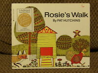 Scholastic 1987 ROSIE'S WALK book by Pat Hutchins