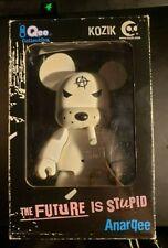 "WHITE BEAR Smoking ANARQEE Frank Kozik 8"" figure BOX included!"