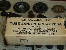 7C4 / 1203A Radio Tube Vt-243