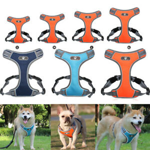 Harness Vest Pet Chest Strap Walking Dog Puppy Cat Breathable S To XL Adjustable