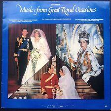 GREAT ROYAL OCCASIONS highlights LP 1983 Charles Diana Wedding Coronation BBC UK