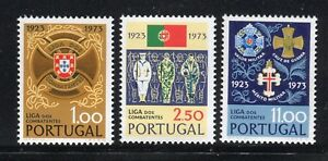 PORTOGALLO PORTUGAL 1973 SERVICEMEN'S LEAGUE 50th/ARMS/SAILOR/SOLDIER/AVIATOR