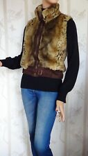 SIZE-10, GIORGIO ITALIA Gorgeous Leopard Print Vest.