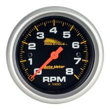 "Auto Meter Tachometer Gauge 19324; Pro-Cycle 0 to 8000 RPM 2-5/8"" Electrical"