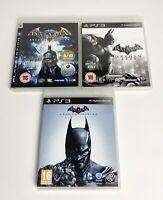 Batman Arkham Asylum + City + Origins Bundle - PlayStation 3 PS3 | TheGameWorld
