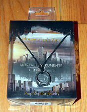 NEW in BOX Mortal Instruments MORGENSTERN'S RING Necklace SOLD OUT Prop Replica