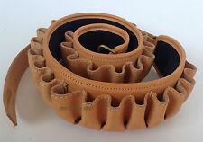 cartuccera in cuoio cal 12 per 30 cartucce cartucciera in pelle vacchetta cuoio