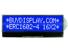3.3v Blue 16x2 Character LCD Module w/Tutorial,Serial I2C,ST7032 Controller
