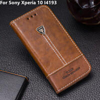 Card Holder Leather Flip Stand Wallet Phone Case Cover For Sony Xperia 10 I4193