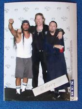 Metallica Super Groups 10x8 Photo