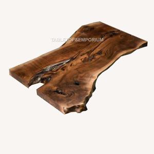 Epoxy resin live edge, Elm, Oak, Acacia, Poplar, Maple, Olive wood, Custom Order