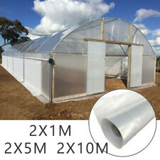 Greenhouse Plastic Cover Clear 2mil 4yr Poly Film 1-10 Widths X Various Lengths