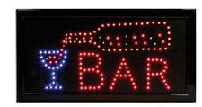 Bar reklame LED Schild Leuchtschild LEUCHTREKLAME Werbung reklame restaurant