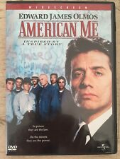 Amercan Me Edward James Olmos (Gang) Excellent Condition Languages Eng/Fr/Esp