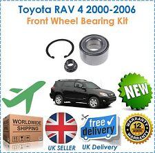 für Toyota Rav4 2000-2006 1.8i 2.0i VVTi 2.0 D4D VA RADLAGERSATZ NEU