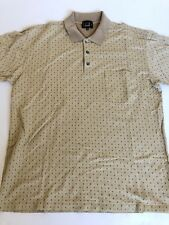 ALFRED DUNHILL Golf Polo Shirt Size XL 100% Mercerised Cotton Made in Italy