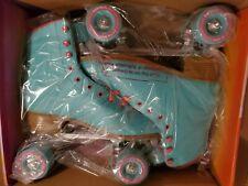 Impala - Quad Roller Skates   Vegan - Womens   Size: 8, Aqua - NEW