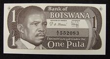 Botswana 1 Pula PAPER MONEY 1983 UNC