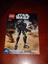 LEGO 75121 Star Wars Imperial Death Trooper Instruction Manual
