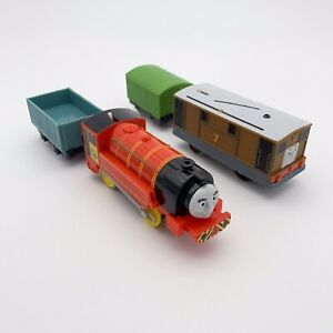 Thomas and Friends Trackmaster Train Lot Victor Toby Cargo Box Car Works Clean
