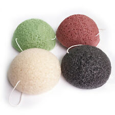 1Pc Pratical Facial Cleansing Sponge Konjac Shape Puff Face Washing Tools