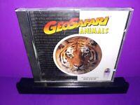 Geosafari Animals (Mac and Windows, 1996) PC CD ROM B501