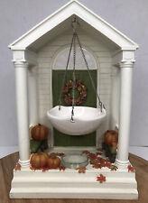 Yankee Candle Autumn Porch Hanging Tart Burner Fall Door Pumpkins