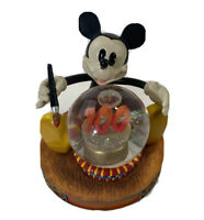 Disney Parks 100 Years of Magic Mickey Mouse Mini Snow Globe Snowglobe Water