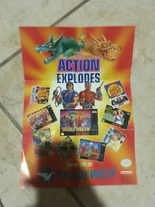 The Action Explodes (Double Dragon, Tradewest)