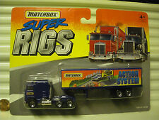 MATCHBOX 1995 CY8A MATCHBOX ACTION SYSTEM KENWORTH BOX TRUCK CONVOY NEW ON CARD*