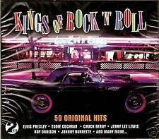 KINGS OF ROCK 'N' ROLL 50 ORIGINAL HITS 2 CD BOX SET