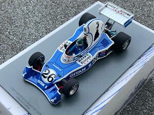 1/18 Ligier JS5 #26 Jacques Laffite GP Long Beach 1976 SPARK 18S220 OVP NEU