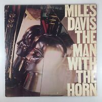Miles Davis - The Man With The Horn Vinyl LP -1981- Columbia PC 36790