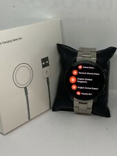 Fossil Gen 3 FTW4005 Men's Silver Stainless Steel Digital Dial Smart Watch UM106