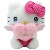 HELLO KITTY PLUSH DOLL PASTEL CUPID SANRIO CHARACTERS  IN HAND 4548643154590