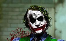 Poster A3 Joker Batman 06